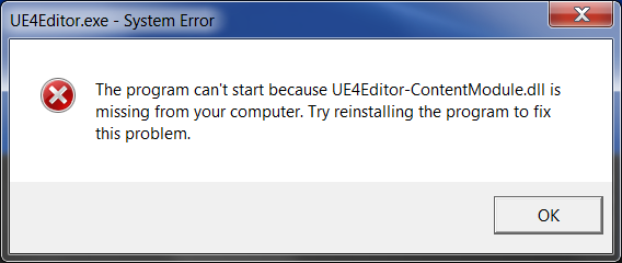 Reinstall Software - Fix DLL Error