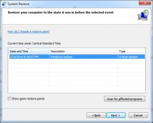 restore fix dll errors