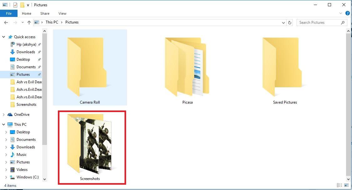 First Best ways to take Screenshot in Windows 10