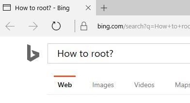 search the web cortana