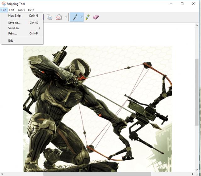 4 Best ways to take Screenshot in Windows 10 2 snipping tool
