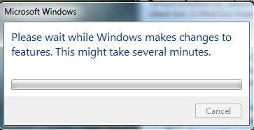 uninstall process start- uninstall Internet Explorer