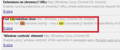 Fast Tab - make Chrome Faster