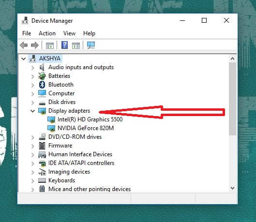 device manager - windows 10 brightness not working