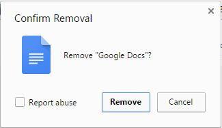 google docs - make Chrome Faster
