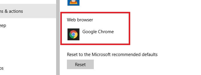 set default browser chrome