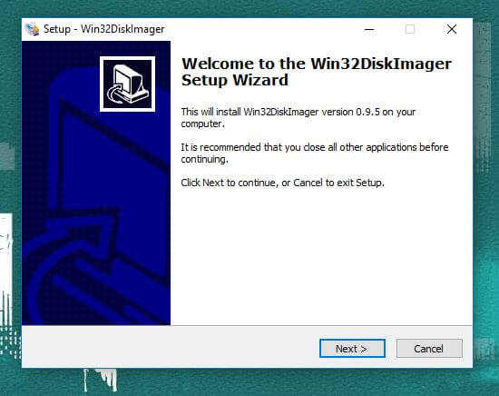 setup wizard win32