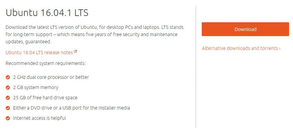 ubuntu 16.04.1 dual boot windows and ubuntu