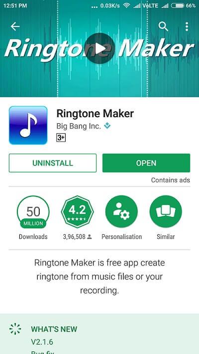 Cut Music - Ringtone maker download