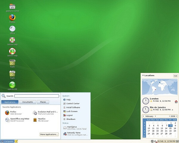 OpenSUSE - Best Linux Distros