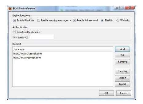 block Website Mozilla