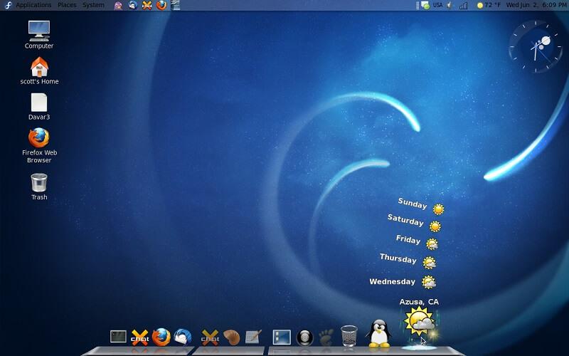 fedora13 Best Linux Duistos