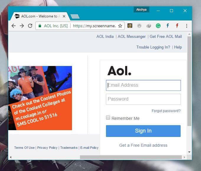 AOL Best Gmail Alternatives