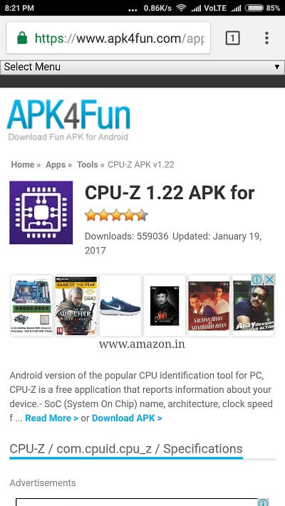 APK4FUN Old versions of Android Apps