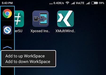 App Menu - 1 Multi-Window