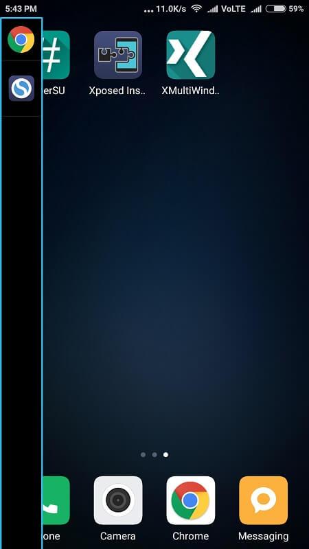 App Menu - Multi-Window