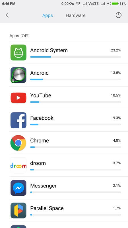 Apps - Fix Android OS Battery Drain