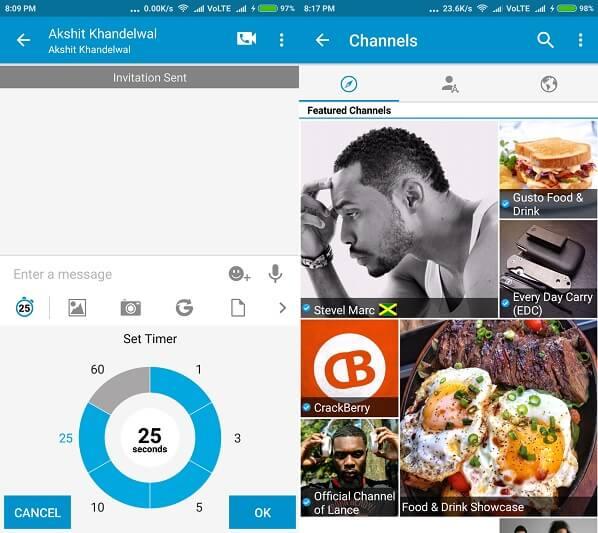 BBM - WhatsApp Alternative Apps