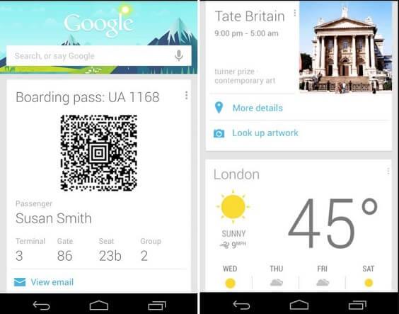 Google Now - Best Voice Assistant Apps