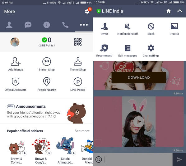 Line - WhatsApp Alternative Apps