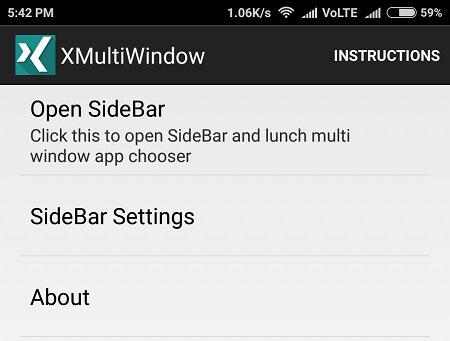 Open Sidebar - Multi-Window