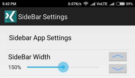 SIdebar App Settings - Multi-Window