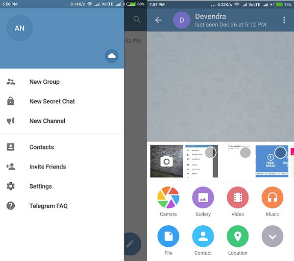 Telegram - WhatsApp Alternative Apps