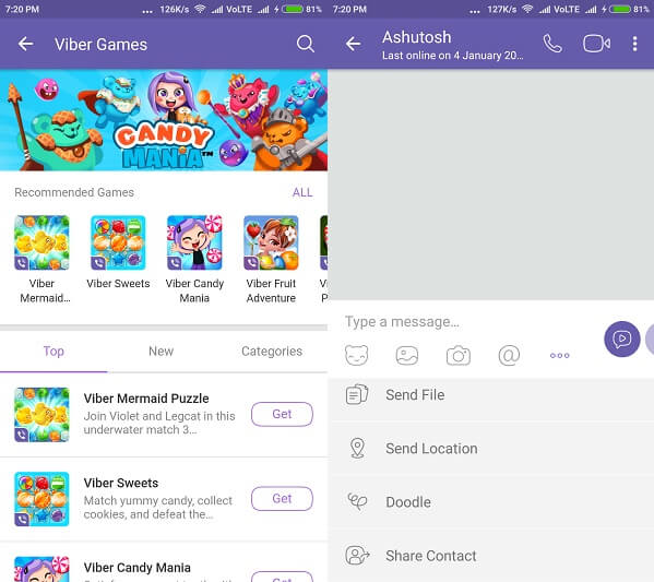 Viber - WhatsApp Alternative Apps