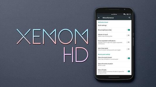 Xenon HD - Best Custom ROM