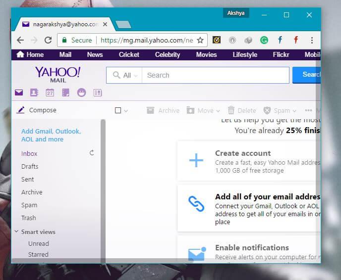 Yahoo Best Gmail Alternatives