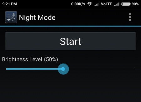 night mode Fix Android OS Battery Drain