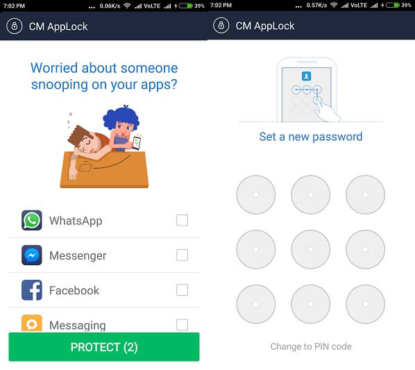 CM app lock Best App Lockers for android