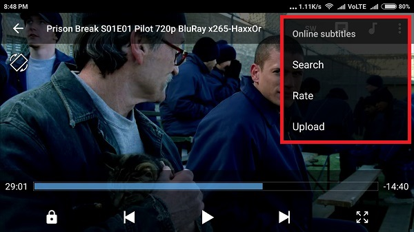 How to add subtitles to video in Mobile Devices.