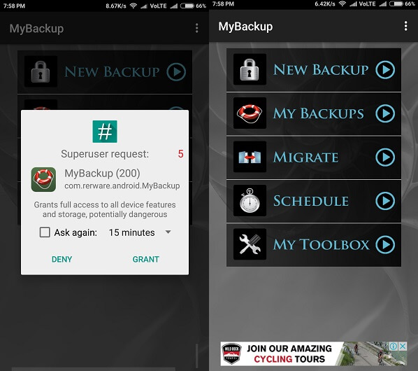 my android backup