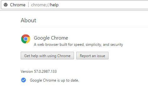 Chrome About - YouTube Dark Mode
