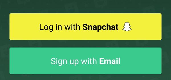 Create Your Own Emoji Bitmoji signup