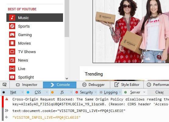 Firefox Youtube dark mode