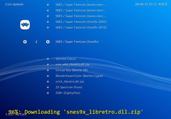 SNES core file - Best SNES Emulator