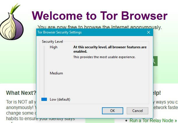 anonymous browser - Tor security