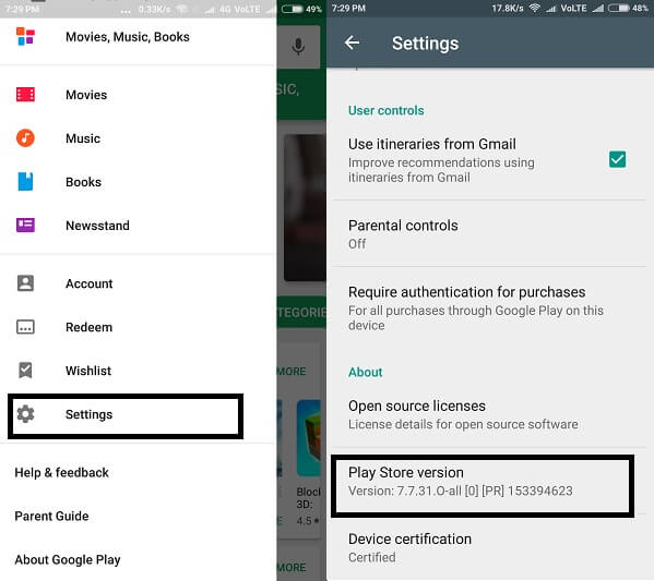 google play store apk download for android 5