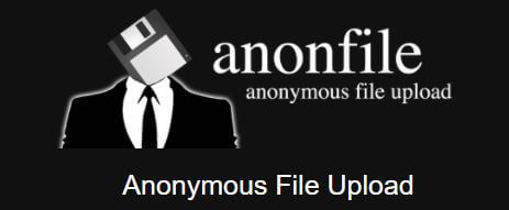 Anonymous File Sharing - AnonFile