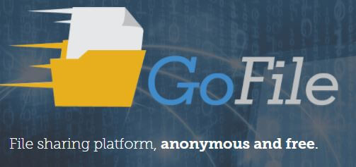 Anonymous File Sharing - Go File