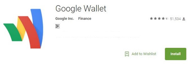 Money Transfer App - Google Wallet