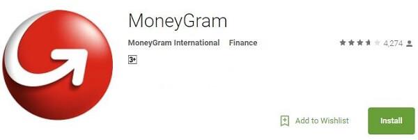 Money Transfer App - Money Gram
