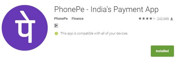 Money Transfer App - PhonePe