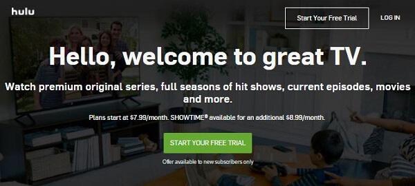 Netflix Alternative - Hulu Plus