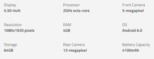 Redmi Note 4 specs - Best Budget Smartphone