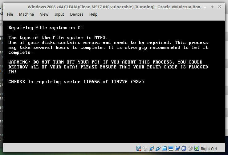 encrption process ransomware protection