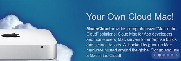 xcode for windows -MacinCloud