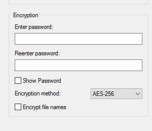 7-Zip - Encryption Software